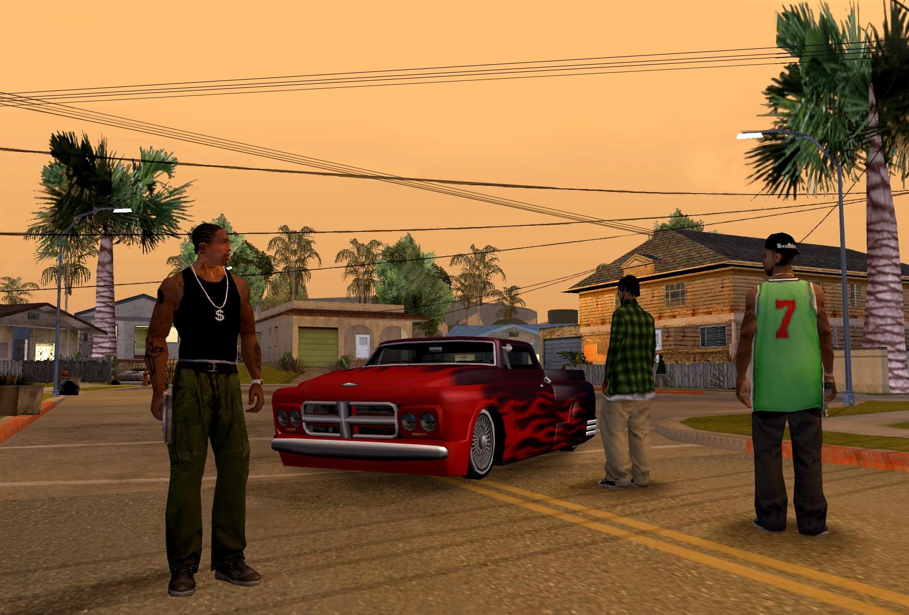 прохождение игры Grand Theft Auto San Andreas
