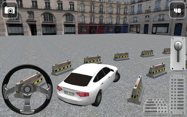 прохождение игры стоянка для автомобилей 3D